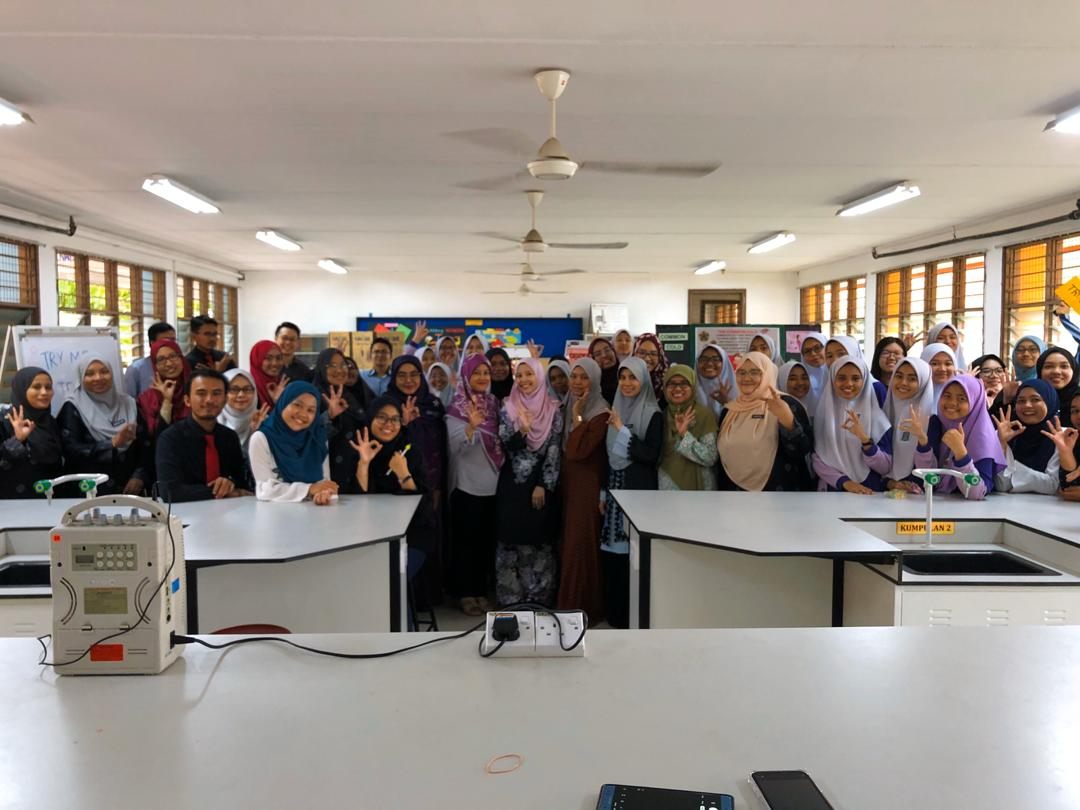 Awareness program on the common diseases at SMK Jalan 3, Bandar Baru Bangi